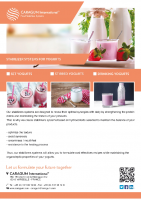 STABILIZER SYSTEMS FOR YOGHURTS